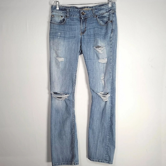 BKE Womens Size 31 Jeans Culture Bootcut Low Rise